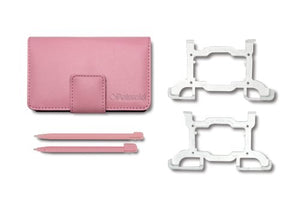 Pink Ds Case & 2 Stylus