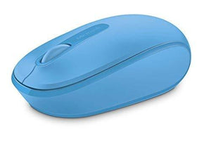 Microsoft Wireless Mobile Mouse 1850 - Cyan Blue