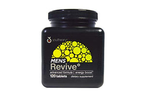 Youtheory Men's Revive Advanced, Black, 120 Count