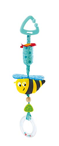 Hape Bumblebee Pram Rattle | Clip-On Rattle Pram Bassinet and Pushchair Baby Toy – Suitable for Newborns,Multicolor