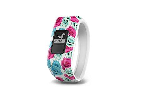 Garmin Ṿå?Vofit Jr, Kids Fitness/Activity Tracker, Real Flower