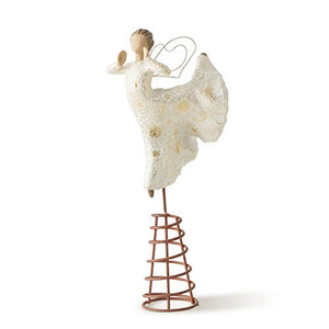 Willow Tree Song of Joy Tree Topper, sculpted hand-painted figure