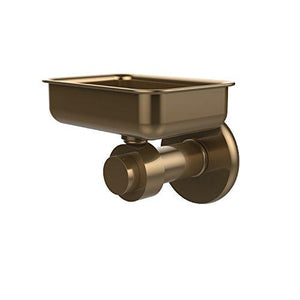 Allied Brass 932-Bbr Solid Brass Decorative Soap Dish, Brushed Bronze