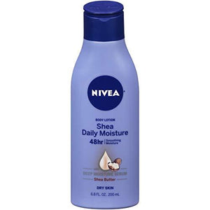 Nivea Shea Daily Moisture Body Lotion 6.8 Fl Oz
