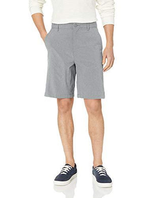 LEE Men's Performance Series Air-Flow Short, Light Gray Heather 38