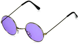 Rhode Island Novelty John Lennon Colored Sunglasses 1 Pair (Colors Vary)