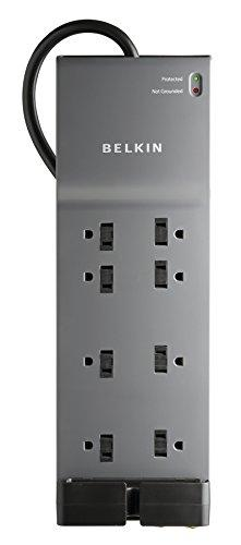 Belkin 8-Outlet Power Strip Surge Protector (3,550 Joules)