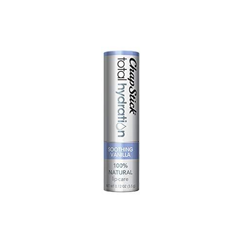Chapstick Total Hydration (Soothing Vanilla Flavor 1 Blister Pack Of 1 Stick) Lip Balm Tube 0.12 Oz
