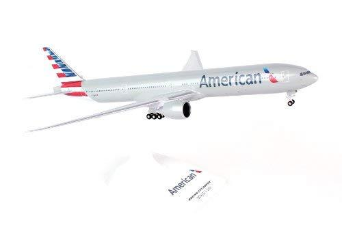 Daron Skymarks Skr715 American 777-300 New Livery Airplane Model Building Kit