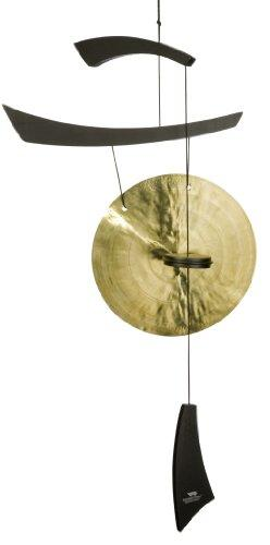 Woodstock Chimes Medium Emperor Gong, Black