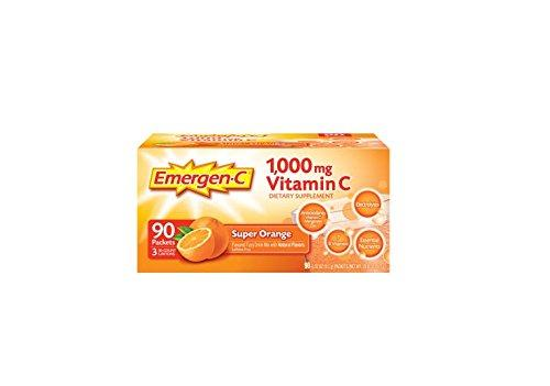 Emergen-C 1000 mg Vitamin C - Super Orange Flavor