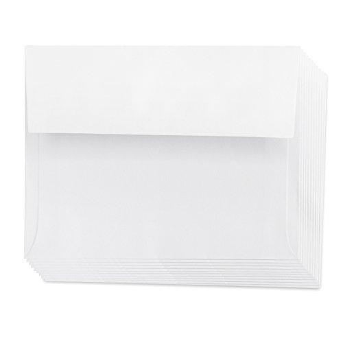 Darice Smooth A2 Envelopes, 4.375 X 5.75-Inch, Ivory, 50-Pack