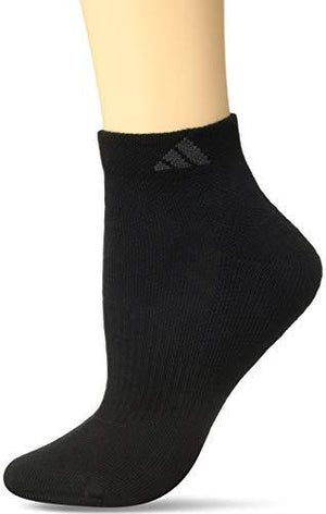 Adidas Women'S Cushioned Low Cut Socks (3-Pack) Black One Size