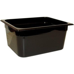 Rubbermaid Commercial Products FG231P00BLA Hot Food Pan, Full Size, 13-3/4 quart, Black