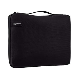 "AmazonBasics 11.6"" Professional Laptop Case Sleeve Bag (With Retractable Handle) - Black"