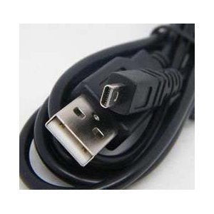 USB Cable Cord for Panasonic Lumix Camera - 5 Feet Black