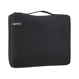 "AmazonBasics 15.6"" Professional Laptop Case Sleeve Bag (With Retractable Handle) - Black"