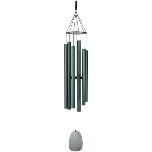 "Woodstock Chimes Bplrg Large Bells Of Paradise, 43"", Rainforest Green"