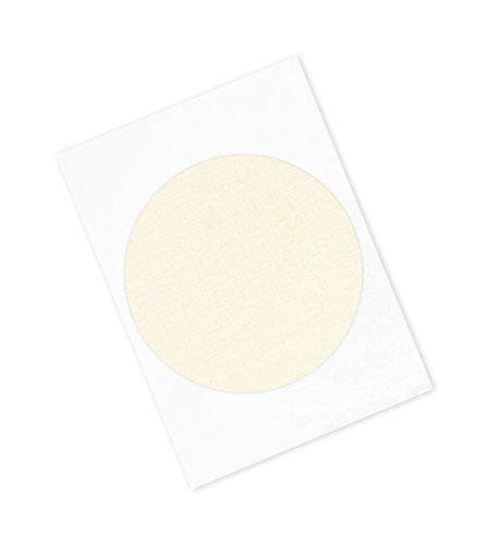 "3M 501+ Circle-9.5""-100 High Temperature Masking Tape 9.5"" Circles, Crepe Paper, Tan (Pack Of 100)"