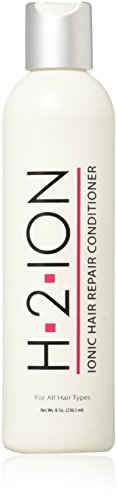 H2 Ion Hair Repair Conditioner -- Thermal Activated Ionic Treatment for Damaged Hair - Restore Shine, Body & Bounce - Protect from Heat Styling - Seal Split Ends - Prevent Hair Breakage (8 oz)