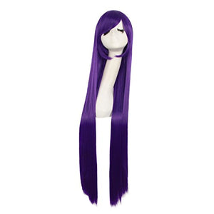 "MapofBeauty 40"" 100cm Anime Costume Long Straight Cosplay Wig Party Wig (Purple)"
