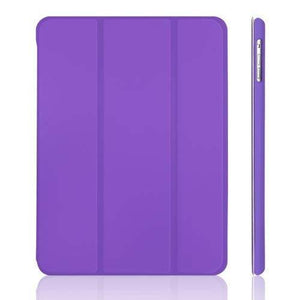 Jetech Gold Serial Slim-Fit Smart Case With Auto Sleep/Wake Feature For Apple Ipad Air 5 - Purple