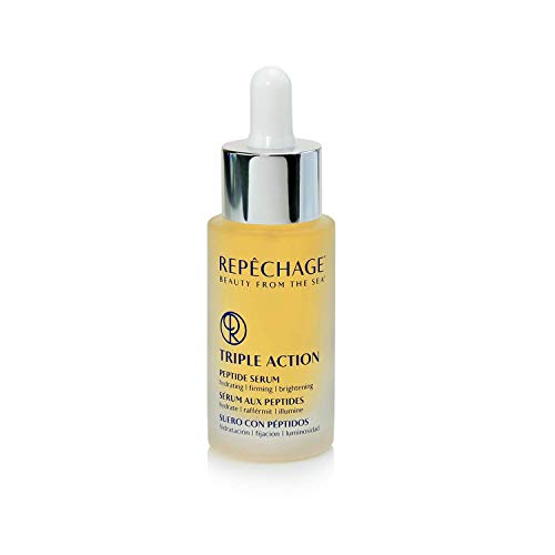 Repechage Triple Action Peptide Serum | Hydrating, Firming & Brightening | 30 ml / 1 fl oz