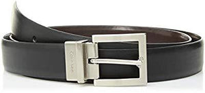 Calvin Klein Women's Reversible Belt, Black/Brown, 2X