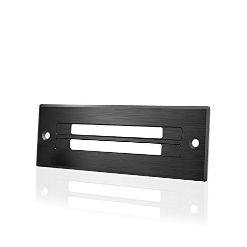 AC Infinity Ventilation Grille, for PC Computer AV Electronic Toe-Kick Cabinets, Slim Low-Profile