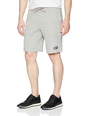 Skechers Men'S French Terry Short Light Heather Xxxl