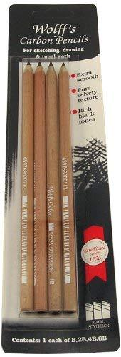 Wolff'S Carbon Pencil Set