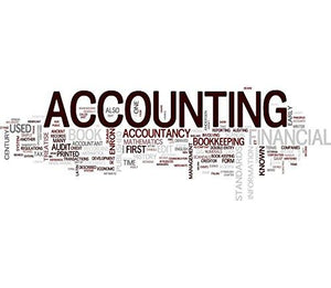 Wallmonkeys Accounting Wall Decal Peel and Stick Graphic WM149312 (18 in W x 16 in H)