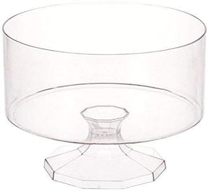 "Amscan 1 Count 5-7/8"" Plastic Trifle Container, Small, Clear"