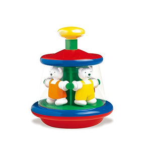 Ambi Toys, Ted & Tess Carousel, Multicolor