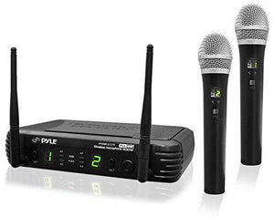 Pyle Professional Wireless Microphone System