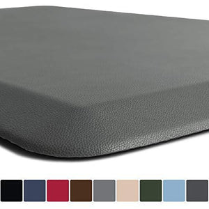 Gorilla Grip Original 34 Premium AntiFatigue Comfort Mat (70 x 24) Gray