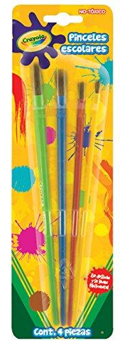 Crayola, Llc Crayola Crayola 4-Piece Art Amp; Craft Brushes
