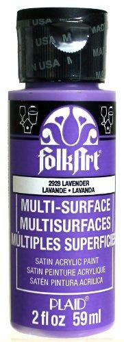 Folkart Multi-Surface Paint In Assorted Colors (2 Oz), 2928, Lavender