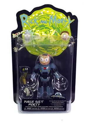 Funko 26869 Action Figure Morty-Rick Purge Suit Collectible, Multicolor