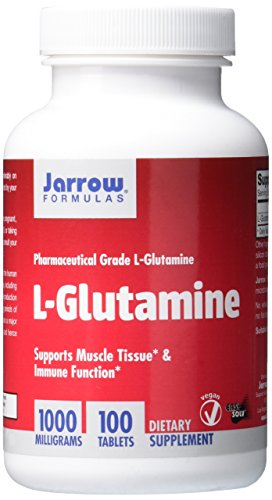 Jarrow Formulations Jarrow L-glutamine, 1000 mg, 100 Easy-Solv Tabs
