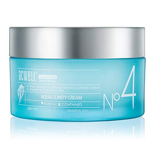 ACWELL Aqua Clinity Cream 1.69 Fluid Ounce (Renewal) Moisturizing Mild Soothing Pure Ingredients