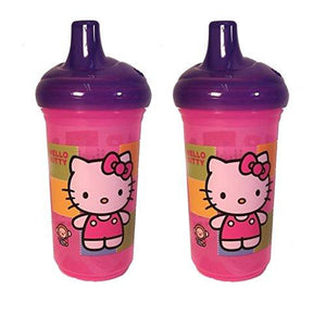 Set Of 2 Munchkin Hello Kitty 9 Ounce Sippy Cups