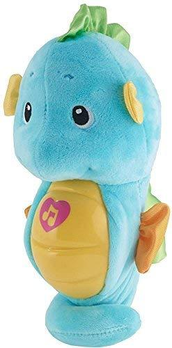 Fisher-Price Soothe And Glow Seahorse - Blue