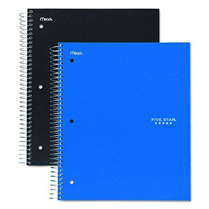 Mead Five Star 3-Subject Notebook -06210
