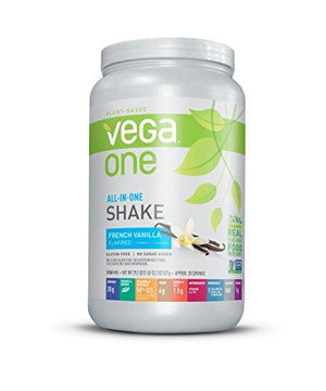 Vega One All-In-One Shake, French Vanilla, Large Tub, 20 Servings, 29.2 Ounce