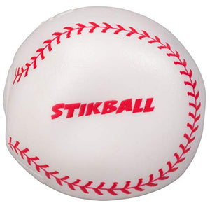 Hog Wild Sticky Baseball - Squishy Stikball Toy Splats And Sticks To Flat Surfaces - Age 4+