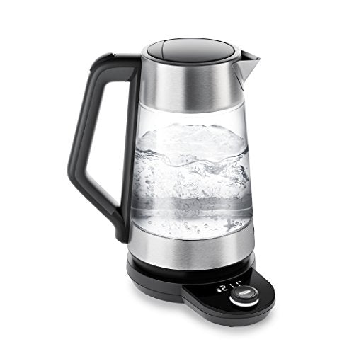 OXO 8716900 Brew Clarity Adjustable Temperature Kettle, Electric, Clear