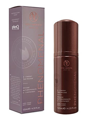 Vita Liberata Phenomenal 2-3 Week Tinted Self Tan Mousse, Dark, 4.22 fl. oz