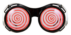 elope X-Ray Costume Goggles Black/Red