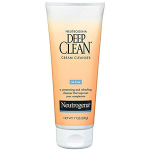 Neutrogena Deep Clean Cream Cleanser 7 Oz (Pack Of 2)